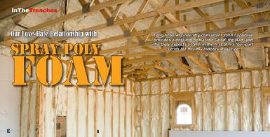 Spray Polyurethane Foam Insulation Inspection