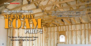 Spray Polyurethane Foam Insulation