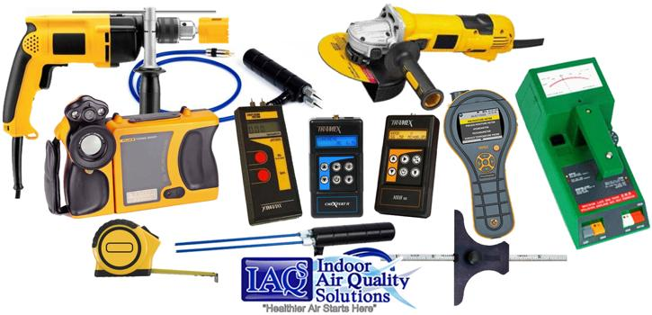 #IAQS Indoor Air Quality Solutions Stucco Inspection Tools